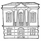House In Classical Style