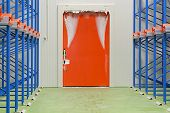 Warehouse Freezer Door