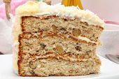 Coconut Cream Cheese Cake
