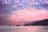 Dawn On The Coast Of The Island Of Penang, Malaysia