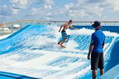 Surfing On Cruise Ship