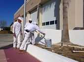 Painting the Fire Station