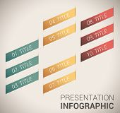 Modern soft color Design template / infographics