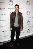 LOS ANGELES - FEB 27:  Dylan McDermott arrives at the PaleyFest Icon Award 2013 at the Paley Center