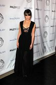 LOS ANGELES - 27 de fevereiro: Lea Michele chega no PaleyFest Icon Award 2013 no Paley Center para