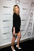 LOS ANGELES - FEB 27:  Leslie Bibb arrives at the PaleyFest Icon Award 2013 at the Paley Center For
