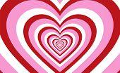 Endless Heart Pattern