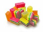 multicolor sweet gellies