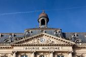 Bolsa marítimo, Burdeos, Gironde, Aquitania, Francia