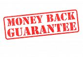 Selo de garantia de devolução do dinheiro