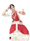 Female Classical Dancer From India