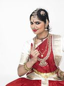 Traditional Dancer From India