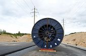 High Voltage Cable Reel Roll Road Construction