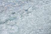 Ice Chunks in Lake