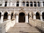 Doge's Palace courtyard