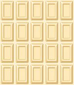 Seamless texture with white chocolate bar. Vector illustration.