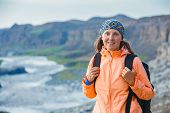 Woman Hiker, Iceland