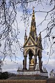 stock photo of kensington  - Prince Albert monument in London - JPG