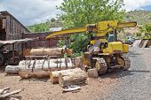 Old Sawmill Equipment