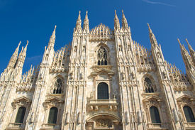 stock photo of domme  - Milan Cathedral  - JPG
