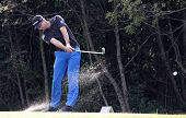 Romain Langasque at the golf Masters 13, 2013