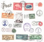 Postage Stamps And Labels From USA