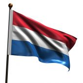 High Resolution Dutch Flag