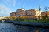 Mikhaylovskiy castle Russia Sankt Petersburg
