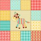 picture of burro  - Zebra - JPG