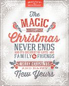 picture of christmas-eve  - Vector Christmas greeting card  - JPG