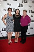 LOS ANGELES - OCT 19:  Christine Fry, Finola Hughes, Annie Dahlgren at the
