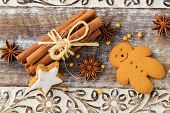image of christmas spices  - Christmas Spices - JPG