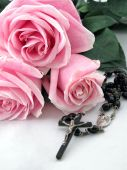 Rosary And Roses