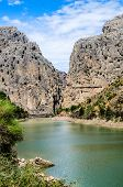 Gorge Of The Gaitanes, Malaga Province, Andalusia, Spain