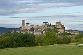 View to Turrene castle, Perigord, France