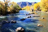 Fall on Animas River...