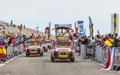 Cochonou Cars During Tour De France