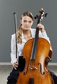 Beautiful Cellist
