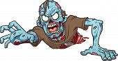 pic of crawling  - Cartoon crawling zombie - JPG