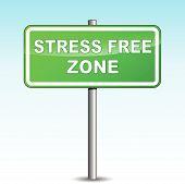 Vector Stress Free Signpost