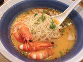 Tom Yum Kung , Thai Spicy Soup With Shrimp And Herb , Thai Food