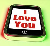 I Love You On Phone