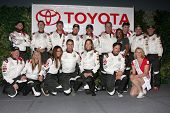 LOS ANGELES - APR 1:  Celebrity Racers at the Toyota Grand Prix of Long Beach Pro/Celebrity Race Pre
