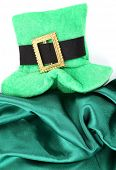 Saint Patrick day hat, isolated on white