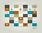 Infographic flat bar. Simply editable sheet diagram. Vector colored rectangle scheme.