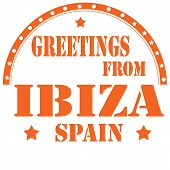 Greetings From Ibiza-stamp