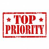 Top Priority-stamp