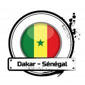 Stamp Dakar