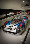 STUTTGART, GERMANY - CIRCA APRIL, 2014: Porsche Museum. PORSHE 917 LH