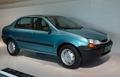 STUTTGART, GERMANY - CIRCA APRIL, 2014: Porsche Museum. PORSHE Studie c88 1994